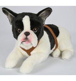 Pluche Franse Bulldog 50cm.