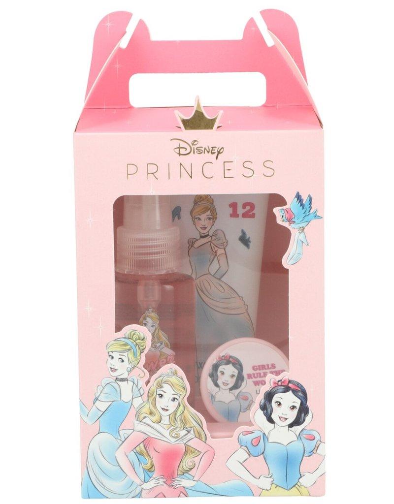 Disney Princess Giftset: SG100ml+BodyMist 100ml+LipBalm 10ml