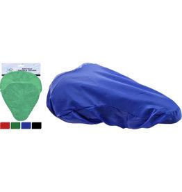 Fiets Zadelhoes 26x23cm. 4 assorti kleur
