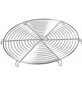 Metaltex Taartrooster rond 30cm. Vertind