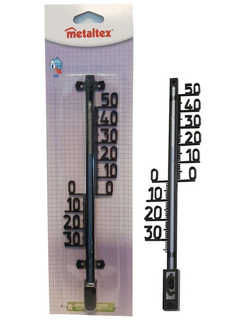 Metaltex Buiten Thermometer 27x5cm. -30° tot +50° Celsius
