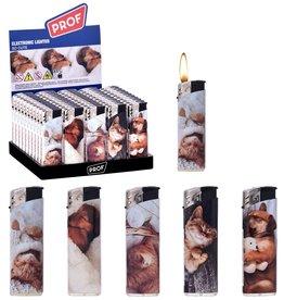 Aansteker Cute Dogs&Cats per 50 op tray
