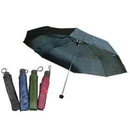 Paraplu Opvouwbaar 21'' 4 assorti kleur