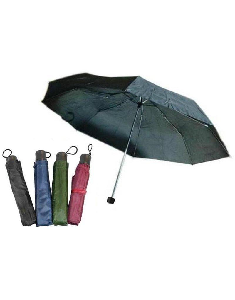 Paraplu kort 21'' 4 kleuren