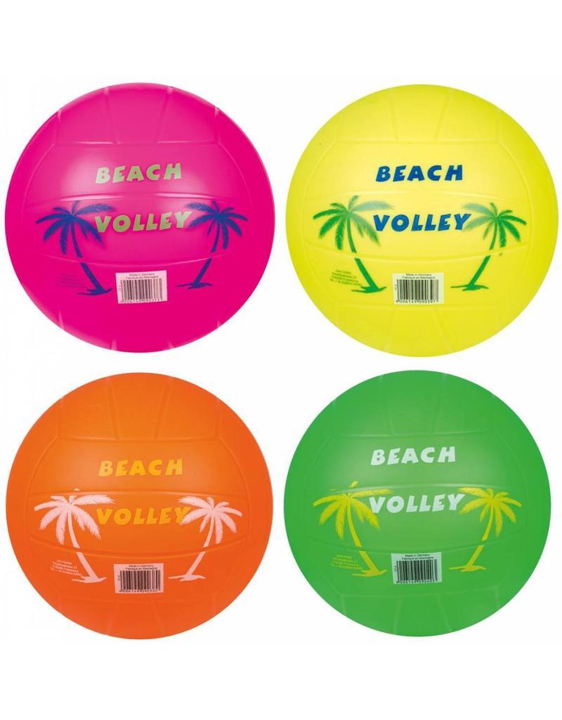 Plastic Beach Volleybal neon 185 gr. per 10 in zak