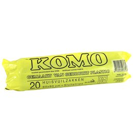 Komo Vuilniszak 50 liter 20 stuks 52 µm