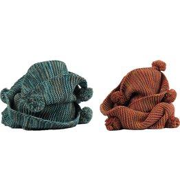 Sjaal Fall Wick Col diam. 70 cm. 2 assorti kleur
