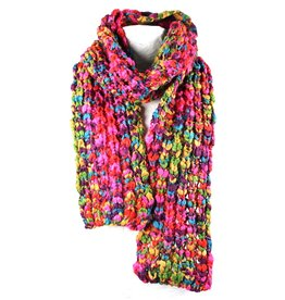 Sjaal Umea Multi Chunky Yarn 160cm.