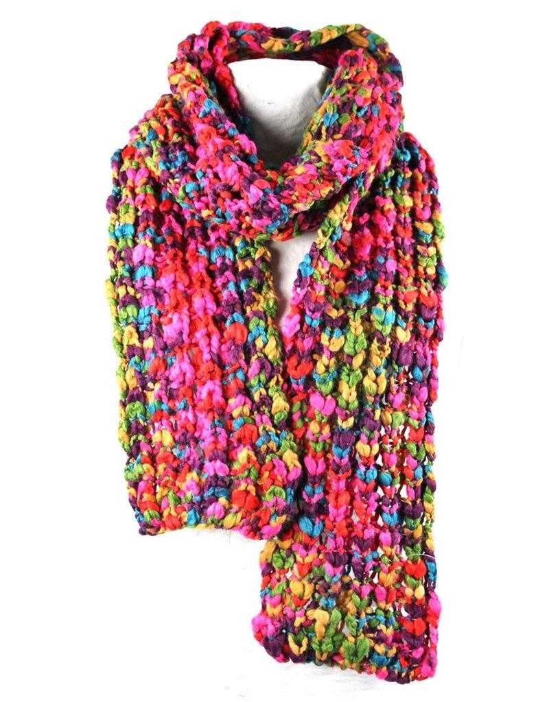 Sjaal Umea Multi Chunky Yarn