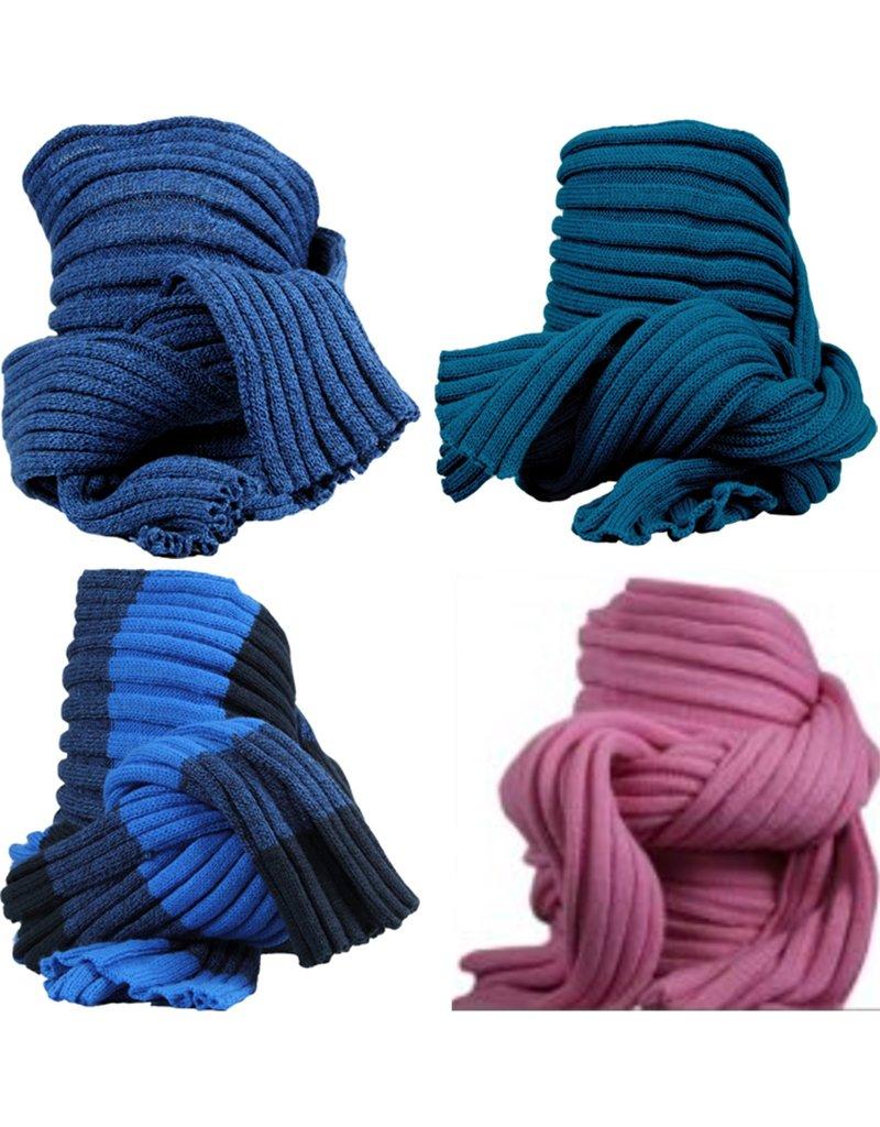 Sjaal Uni-Block 4 assorti kleur