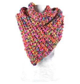 Sjaal Orebro Multi Chunka Yarn 180cm.