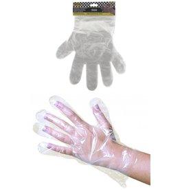 Wegwerp Handschoen aan hangkaart 50 stuks