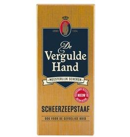 Vergulde Hand Scheerstaaf 75gr.