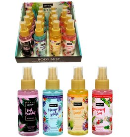 Sence Body Mist 100ml. 4 assorti geur