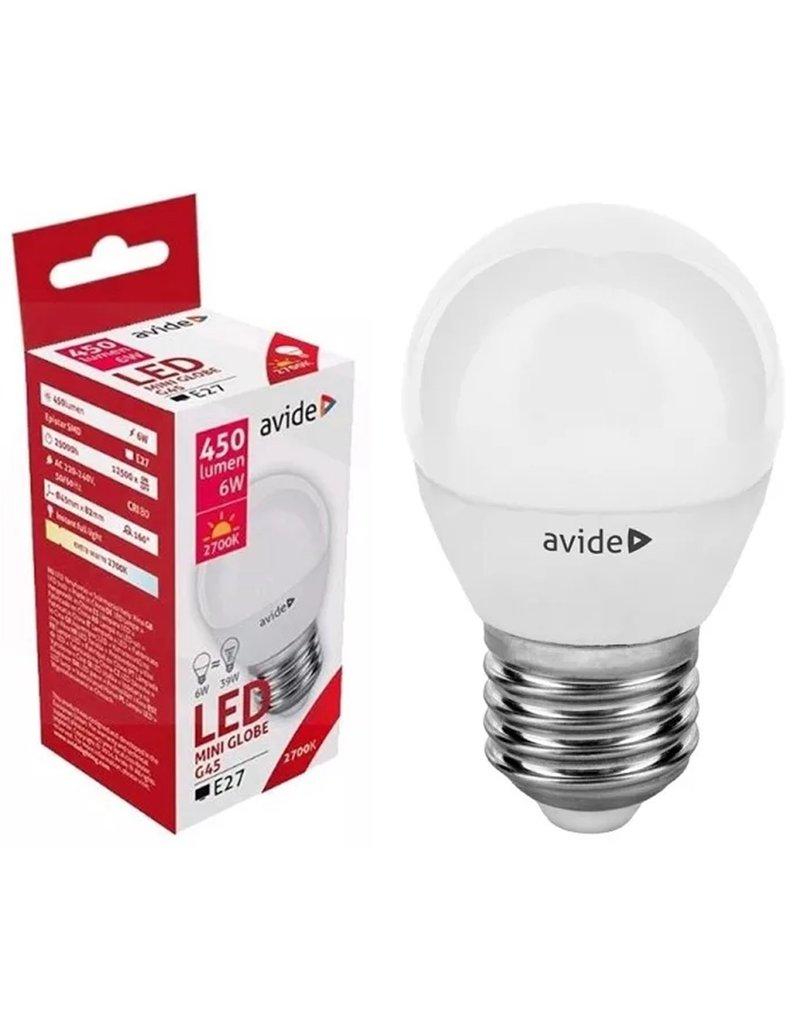 Avide LED Globe Mini G45 6W E27 EW 86647 2700K