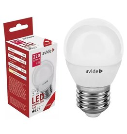 Avide LED Globe Mini G45 4W E27 WW 3000K