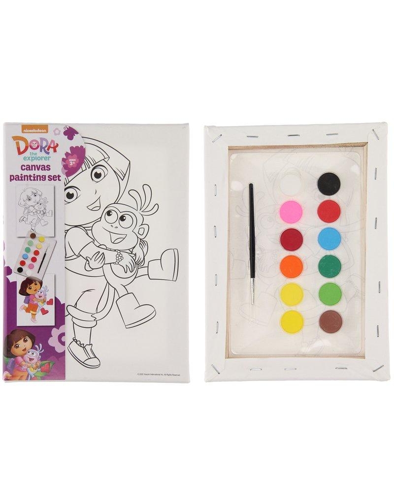 Dora Verf je eigen schilderij 25x18x2cm.