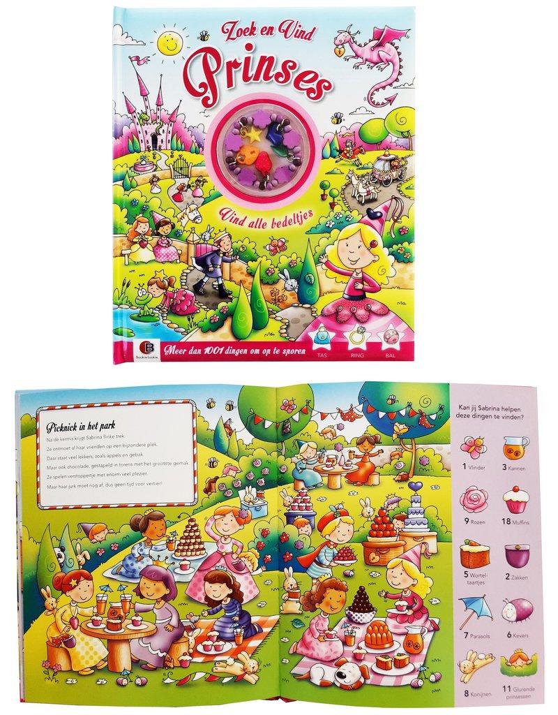 Bookie Lookie Hobbyboek Zoek En Vind: Prinses 27x23cm.
