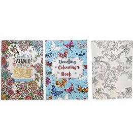 Sayings&Doodling Kleurboek Volwassenen 30x21cm 24 pag. 2ass.