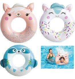 Intex Zwemring Cute Animals 84-91cm 3 ass. design