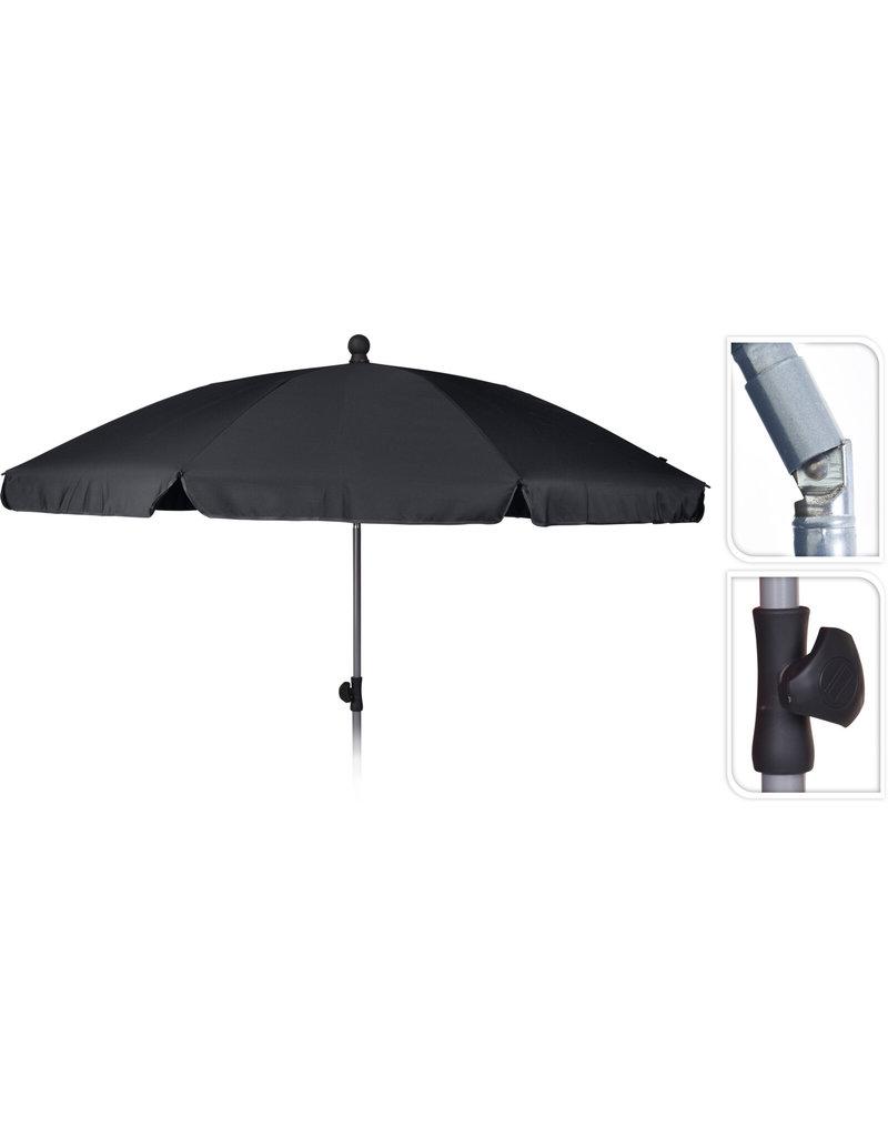 Strand/Tuin Parasol 200cm Grijs