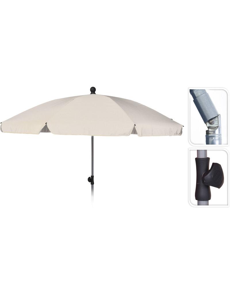 Strand/Tuin Parasol 200cm Creme