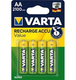 Varta Oplaadbare Batterij AA 4 stuks 2100mAh