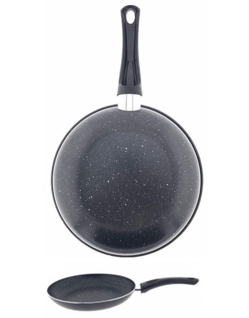 Koekenpan 20cm Alu Marmer Anti Aanbak Laag