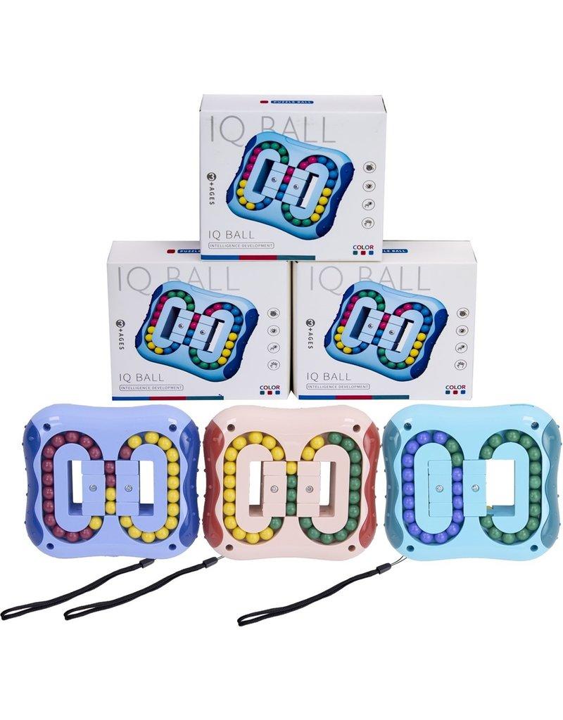 Magic Fidget IQ Puzzle Plate 10,5x11,5cm. 3 assorti kleur