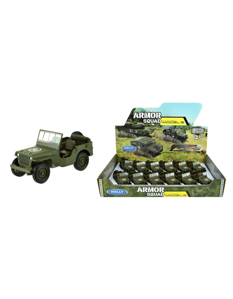 DieCast Jeep Willys  MB 1:34