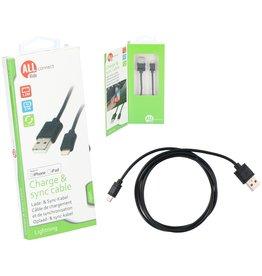 Mobiele Oplader Lightning voor iPhone/iPad Zwart