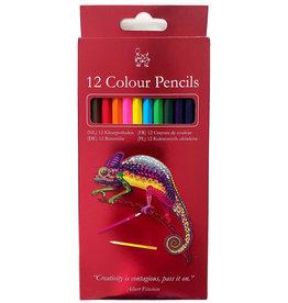 Kleurpotloden 12 stuks Kameleon
