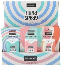 Sence Hand Spray On the Go 15ml. 3 assorti geur