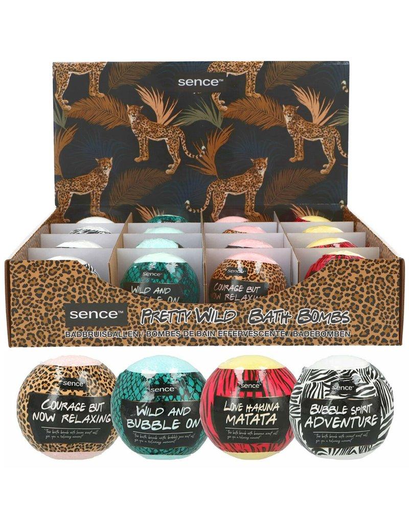 Sence Leopard Badbruisbal 120 gram 4 assorti geur