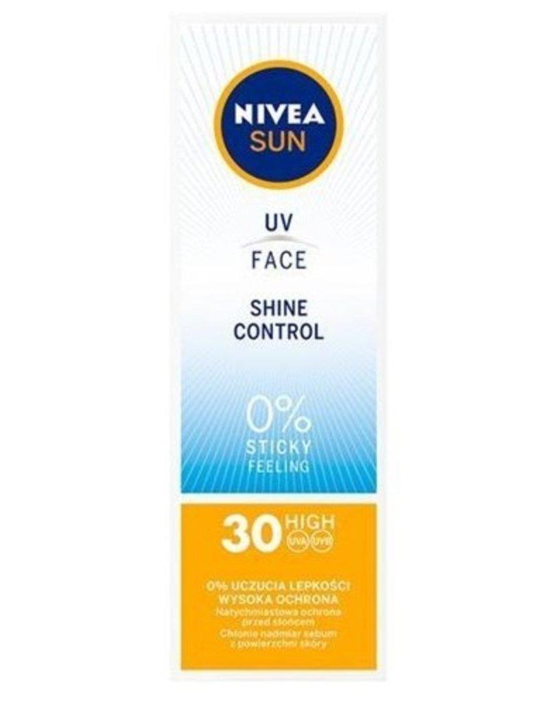 Nivea Sun Face Cream F30 50ml. 0% sticky effect (Pl./It. tekst)