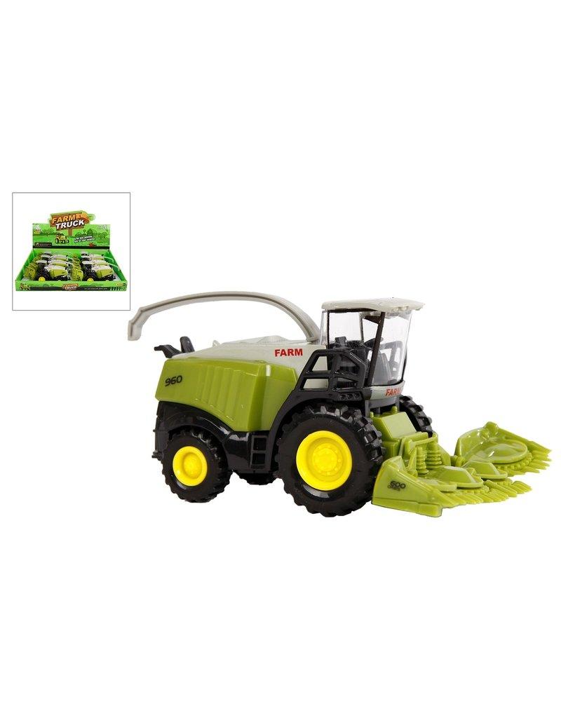 Landbouwvoertuig met maaier 13,5cm.