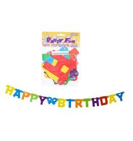 Slinger Happy Birthday 146cm.
