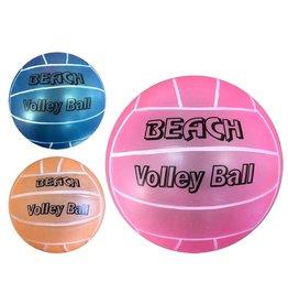 Volleybal 23cm. 3 assorti kleur