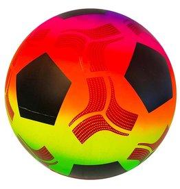 Plastic Voetbal Rainbow 230mm