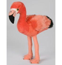 Pluche Flamingo 23cm.