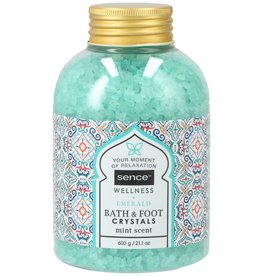 Sence Of Wellness Bath&Foot Crystals Emerald 600gr