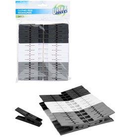 Wasknijpers Plastic 24 stuks