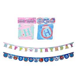 Slinger Happy Birthday 175cm. 2 assorti design