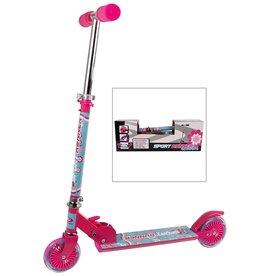 SportRunner Step Meisjes Voetrem Roze/Blauw