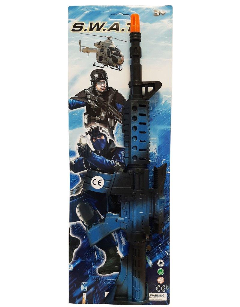 SWAT Geweer met ratel  44cm