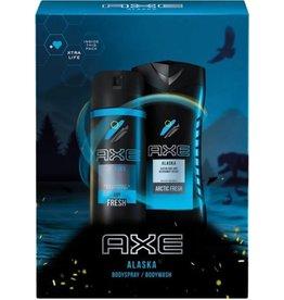 Axe Giftset Men Alaska; Douchegel 250ml  + Deospray 150ml