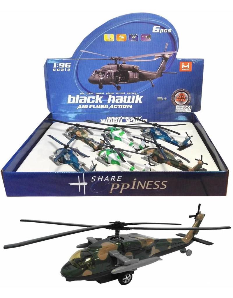 Black Hawk Helicopter met licht & geluid 1:96 per 6 in displ