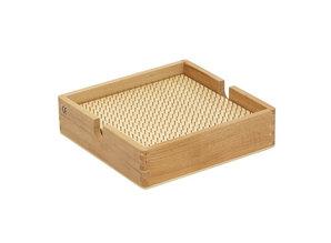 Rolf Kralenplank hout vierkant met kist