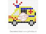 Kralenplank Ambulance 3