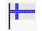Kralenplank Vlag Finland